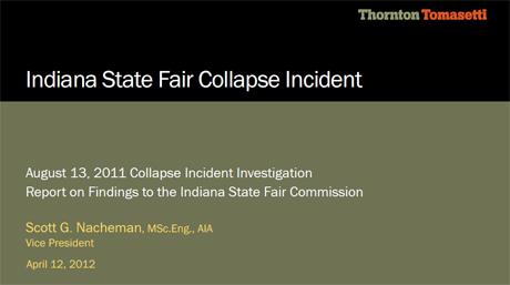 Indiana State Fair Commission Investigation Report