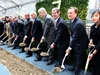 The groundbreaking ceremony, attended by New York City Mayor Michael Bloomberg, Gerald and Jeffrey Hines of developer Hines, Henry N. Cobb and Yvonne Szeto of Pei Cobb Freed &amp; Partners and other city officials and project partners. Photo by Bess Adler.