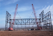Erection Engineering and Site Logistics