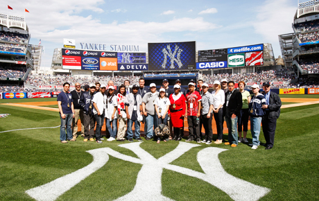 The Yankee Stadium ACE team.