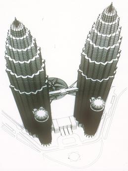 Petronas Rendering 1