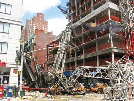 Crane Collapse 3