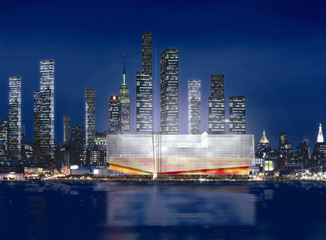 New York Sports and Convention Center Design 1