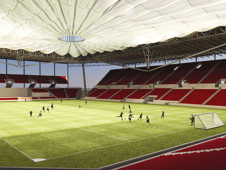 Soccer Stadium Roof Study 1