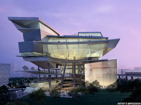 Singapore Civic, Cultural and Retail Complex 1