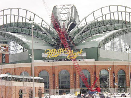 Miller Park Bearing Replacement 1