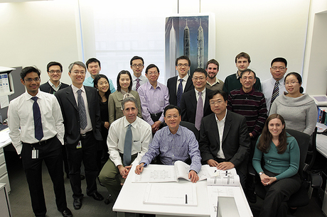 Ping An International Finance Center Team