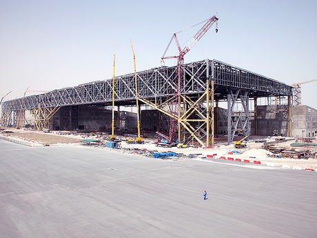 Doha International Airport Aircraft Maintenance Hangar Facility