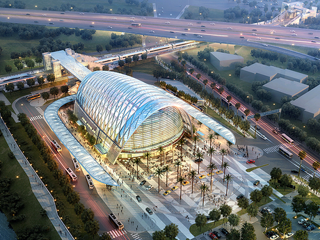 Anaheim Regional Transportation Intermodal Center 1