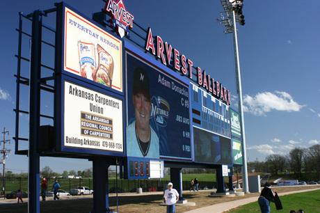 Arvest Scoreboard