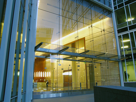 Lobby Curtain Wall