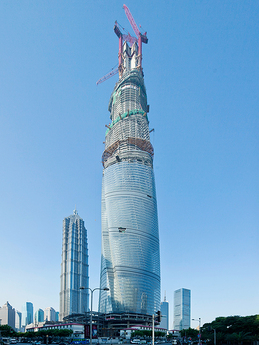 Shanghai Tower Tops